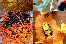 *HOAWG* Sensory Activities for Kids / Sensory Activities for Kids found on Hands On As We Grow (HOAWG), handsonaswegrow.com