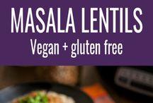 Masala lentils