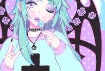 Pastel Goth, creepy and cute