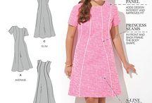A Line Dress Pattern Plus Size