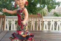 Nancy Flamenka / Diseños de flamenca para Nancy de Famosa.
