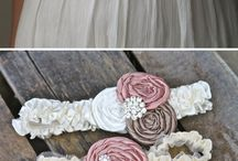 Fabric flowers / by Kimberly Ward
