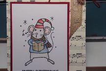 stampin up weihnachtsmaus