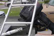 poling platform platafoma  de empuje Carolina skiff j16