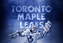 I Bleed Blue & White / Anything, and everything, Toronto Maple Leafs. Die hard fan for life