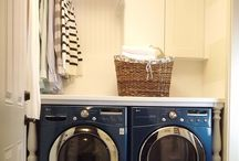 Laundry Room Inspo / Laundry room design inspiration