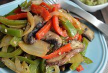 Platillos con verduras