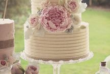 Wedding Cakes - Rustic