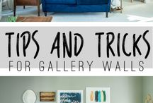Pictures, Signs & Sayings / Wall art inspiration, tutorials and where you can buy it.