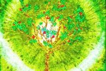 Energetické zářiče / Obrazy s léčivým záměrem, krystaly a symboly...