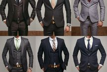 Groom/Groomsmen / fashion tips and tricks for the big day, because it not just about the ladies!