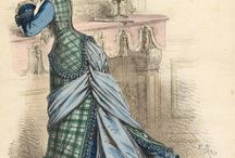 Costume Inspiration / Gorgeous dresses, gowns, detail etc for 1800's inspiration.