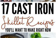 Food - Cast Iron pan recipes