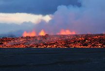 Iceland's Bardarbunga Volcano Puts on Breathtaking Lava Display / The Bardarbunga volcano in Iceland continues to put on quite a show, with lava pouring out of a gash, or fissure, in the ground. The latest fissure eruption, which began on Sunday (31 August 2014), could go on for weeks, if not longer. It may also lead to a greater hazard — an explosive eruption that sends large clouds of ash into the air and melts glacial ice, causing flooding. | www.godsfolder.in #GodsFolder