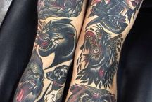 American Traditional Tattoos / by Jeremy Cormier