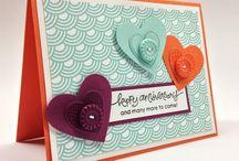 Cards - Hearts Wedding Anniversaries Valentines