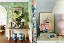 sdc living & dining rooms / by Kate Davey Monroe