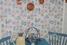 Kortedala museum / Bilder från lägenhetsmuseet Kortedala museum i Göteborg Visar en arbetar/tjänstebostad från 1954
