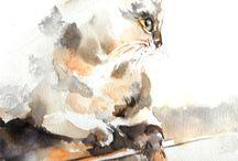 paintings: animals