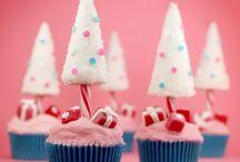 Cupcakes Navidad / Fantásticos Cupcakes para celebrar las festividades de Navidad.