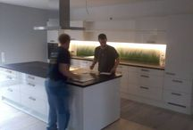 Unser Montageteam unterwegs ... / Hier zeigen wir euch einige Küchen - eingebaut und fotografiert von unseren Montage Profis M. Kipke-Vogt und J. Nielsen! Danke!