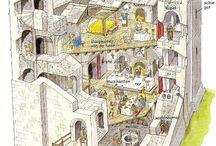 Gs - kasteel in de middeleeuwen