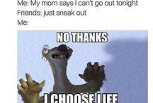 Haha me