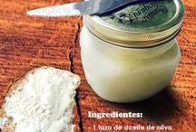 mayonesas caseras sin lactosa