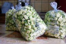 Congelare zucchine