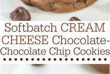 biscuiți cu crema de brânză și ciocolata