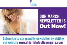 RSJ Plastic Surgery Newsletters
