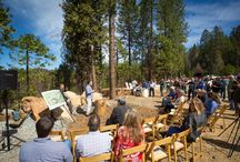 Rush Creek Lodge Groundbreaking 2015