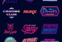 80s Logo Designs
