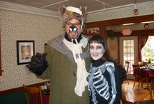 Halloween / Each year, usually the last Saturday in October, we are having fun with our Ghost & Goblin Trail. It is an Inn-to-Inn tour in the White Mountains, dressed in your best Halloween costume (each innkeeper will judge your creativity!), while tasting really good autumn treats (you will judge us on the best dish!) and unravelling the Great Mystery Muddle of the White Mountains. Lots of people are joining us each year for this event. Let these pictures inspire you for our next Ghost & Goblin Trail!