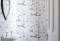Sleek Cloakrooms / Sleek designs of cloakroom potentials. A really great use of space.