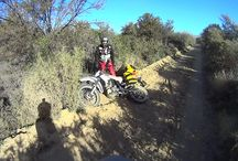 Adventure Riding / Adventure riding from around southern Africa, on South African motorcycles - the Puzey STX 250 R Trail and Puzey XTR4 300.