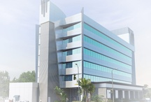 Office Buildings  / Description:  47,000 sf commercial building remodel Location: North Hollywood, California Architect: Alloi Architecture/DyDesigns General Contractor: TBD
