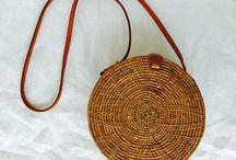 Rattan Handbags + Basket Bags / View our range of rattan basket bags. Each of our bags are handmade by artisans in Indonesia.