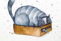 Sulu Boya ve Mürekkepten Hayvan Sergisi! / Galerinin devamına buradan ulaşabilirsiniz: http://www.ajanimo.com/sulu-boya-ve-murekkepten-hayvan-sergisi/