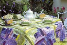 Decorating with quilts etc / Add warmth and love to your surroundings