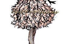 haute couture sketch