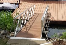 Aluminum Gangways / Rolling Barge makes Aluminum Gangway kits that are light weight, strong and cost effective.