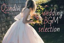 永久保存版】結婚式で絶対使いたいオススメ曲♡Q;indivi*総まとめ*のトップ画像