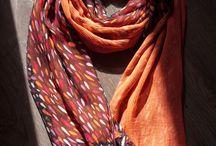 шёлковый шарф - silk scarf / Шёлковые шарфы на любой вкус