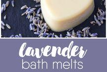 Lavender bath