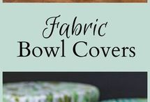fabric bowl covers.