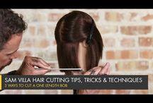 Ladies Hair Cutting & Tips