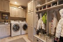 HOME: Office, Entry & Laundry Rooms