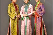 Asian Dress / Traditional attire worn by Asian women (or clothes inspired by traditional Asian dress) / by Anna Sibal