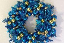 Christmas wreath/Corona Navideña